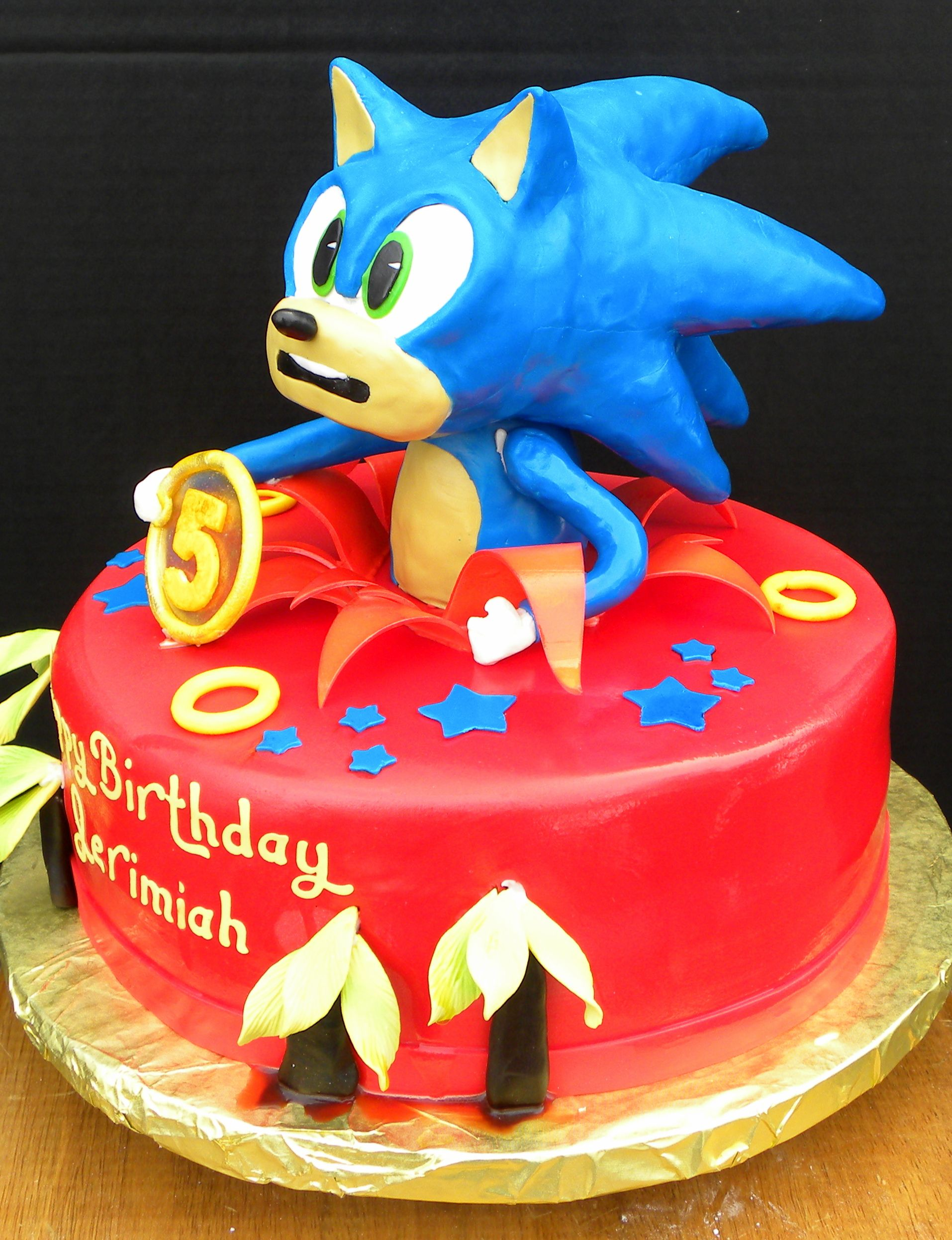 Sonic The Hedgehog Cakes Cake Ideas And Designs With Images