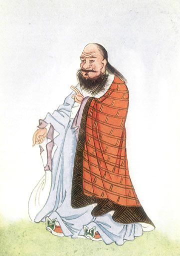 ac0ef22ba6c Who was Lao Tzu and what is Taoism  (Image  Portrait of Lao Zi (Lao Tzu)   February 1922