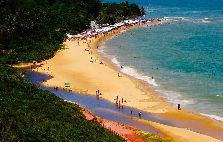 Praia de Pitinga, em Arraial D'Ajuda, Porto Seguro (BA)