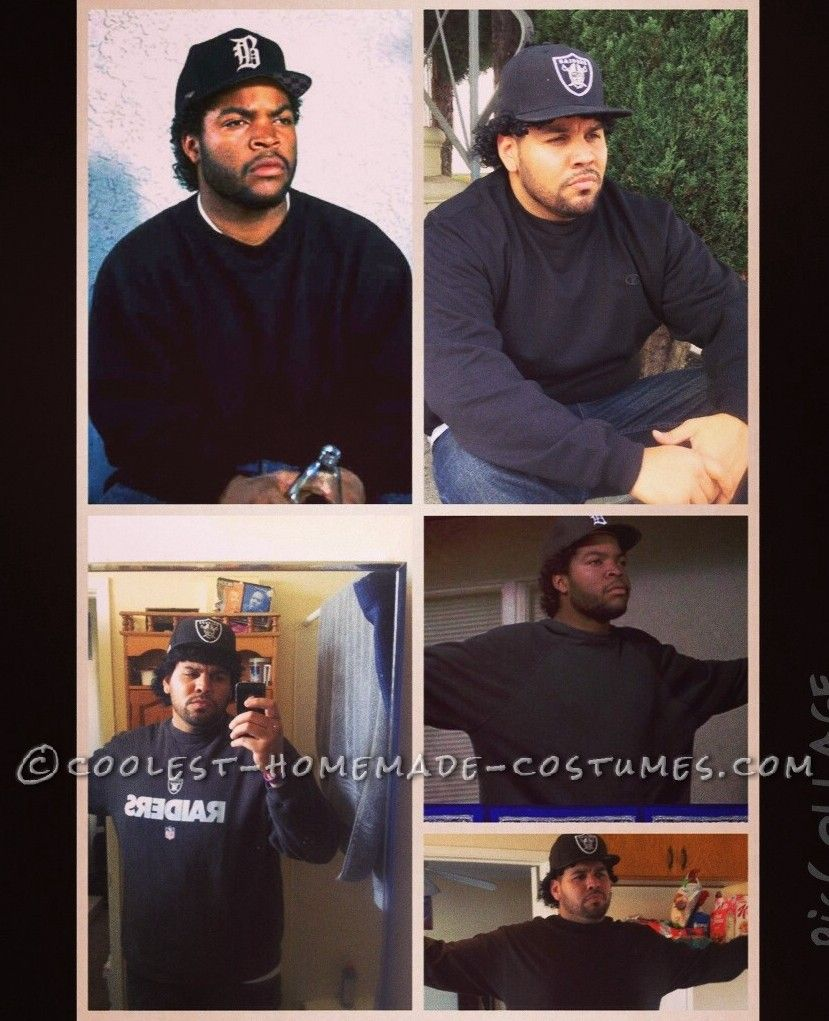 Easy and Cheap DIY Costume Idea: Ice Cube in Boyz n the Hood… Coolest Online Halloween Costume Contest
