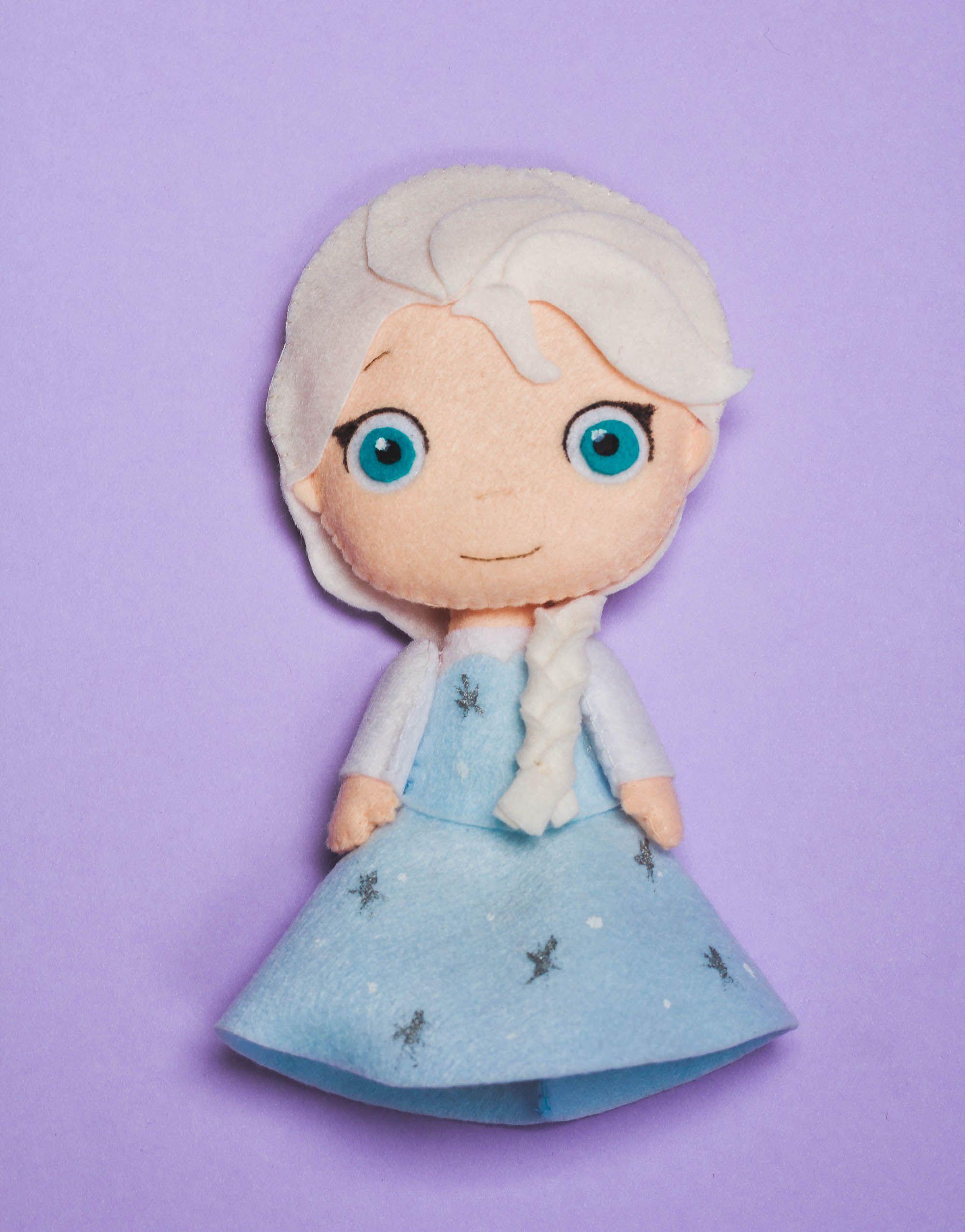 Neptune felt doll-decoration room-party-gift-birthday-Children decoration
