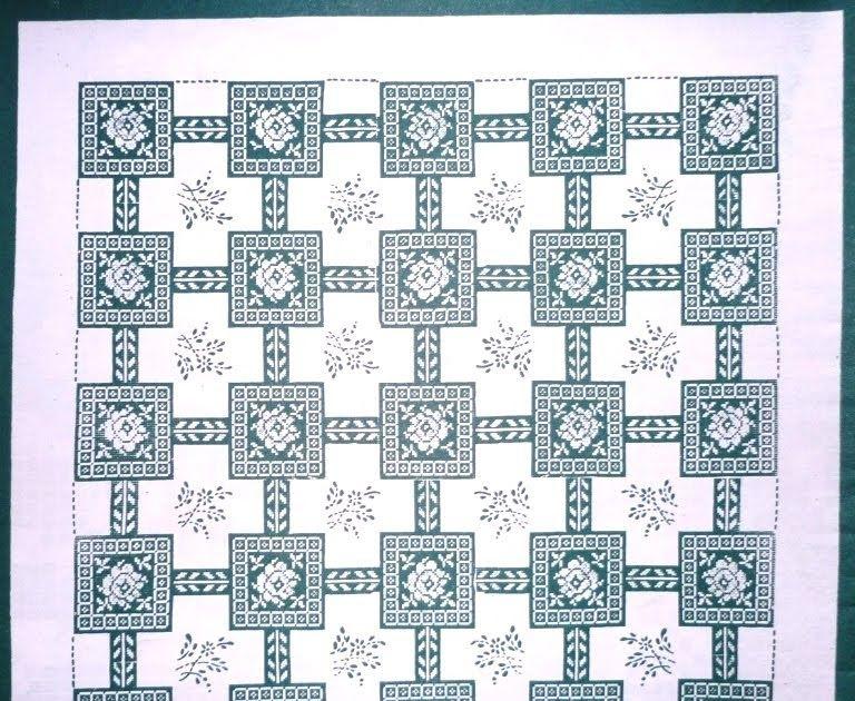 crochet em revista: Toalha 3