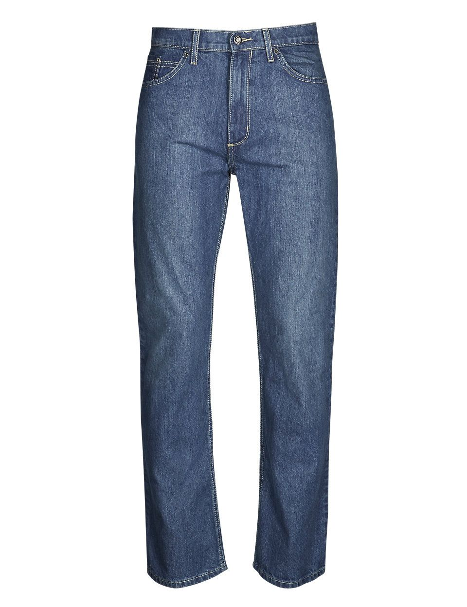 Jeans with Comfort Stretch | M&S