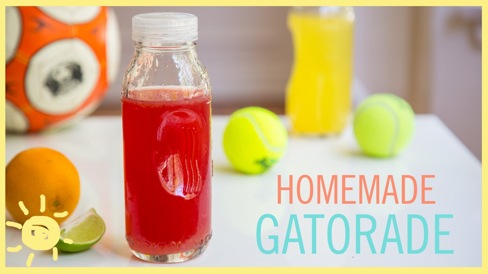 EAT Homemade gatorade, Healthy drinks for kids, Sports food