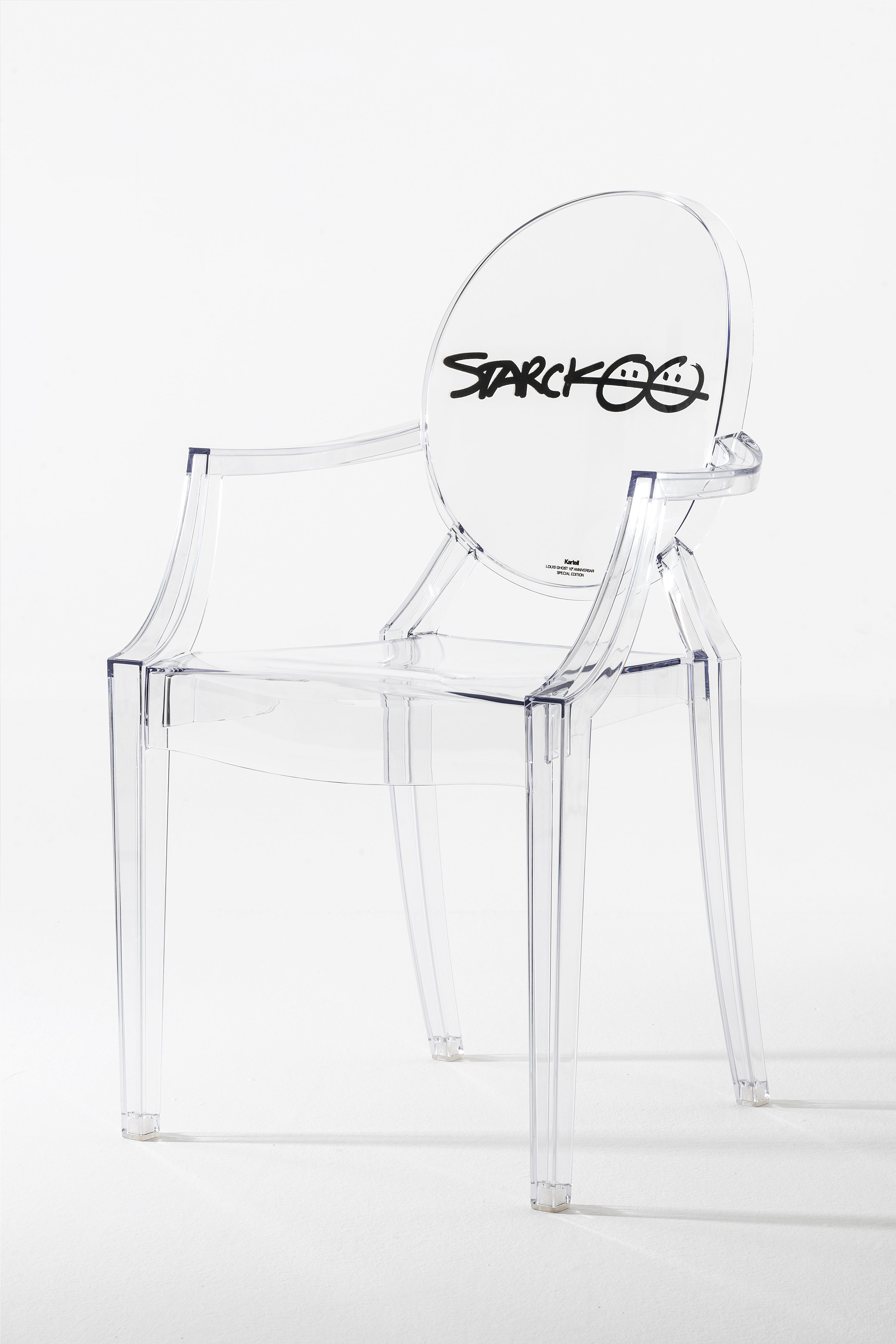 Fauteuil Louis Ghost De Philippe Starck louis ghost special edition 10th anniversary - kartell