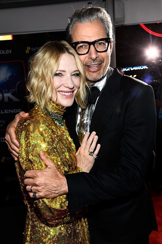 Cate Blanchett Jeff Goldblum C Michael Buckner World Premiere
