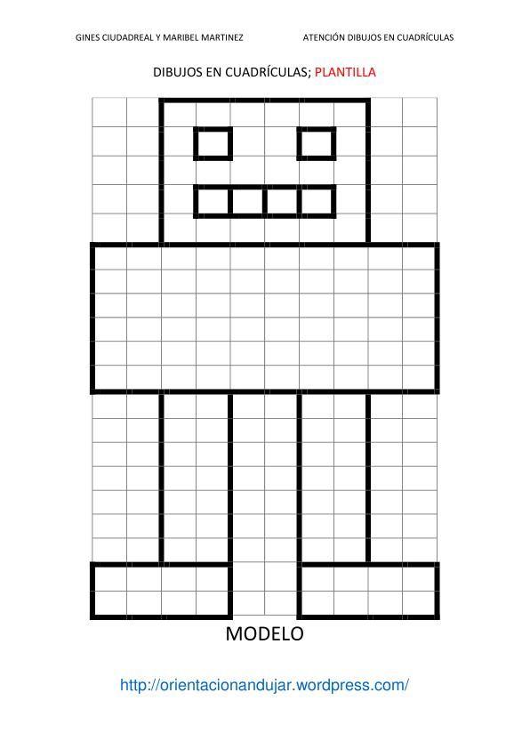 Nuevas fichas de Atencin Dibujamos en cuadrculas siguiendo