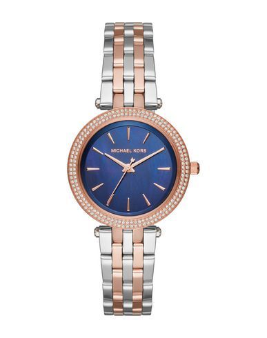 MICHAEL KORS Women's Wrist watch Dark blue -- --