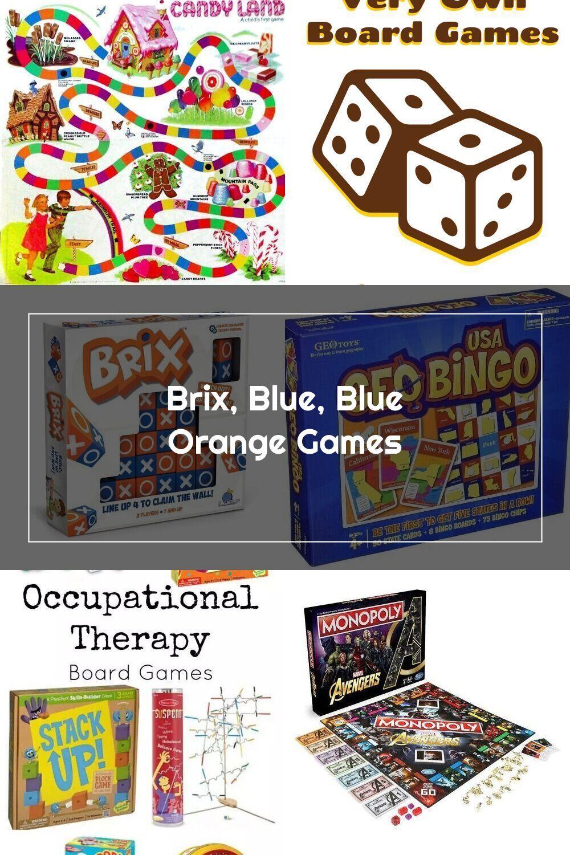 Brix, Blue, Blue Orange Games in 2020 Orange games, Blue