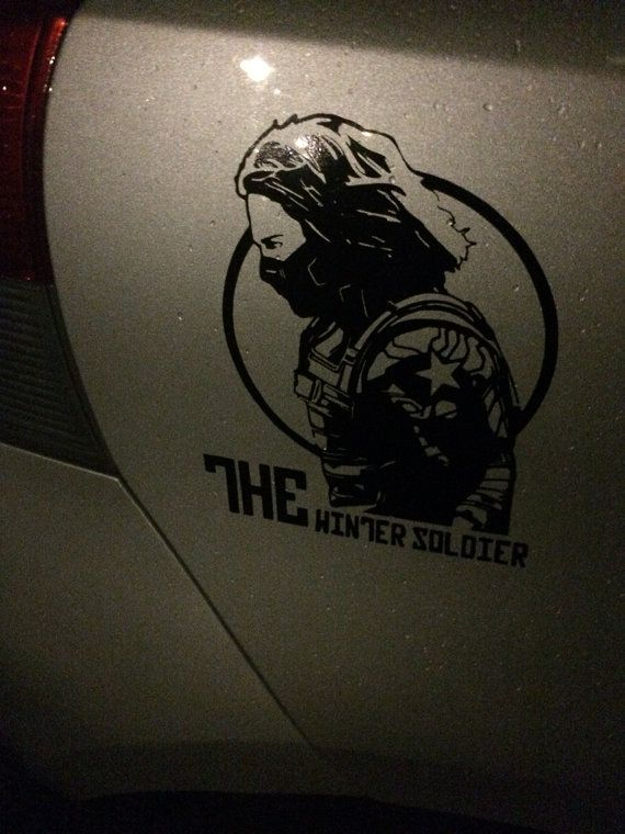 Winter soldier vinyl decal sticker car window laptop by sticksome