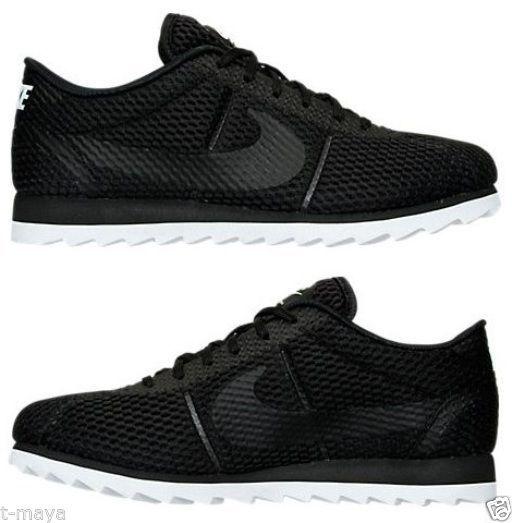 M Cortez Cool Nike Black Mesh Grey Women's Breathe Casual Ultra 4SwxqdX