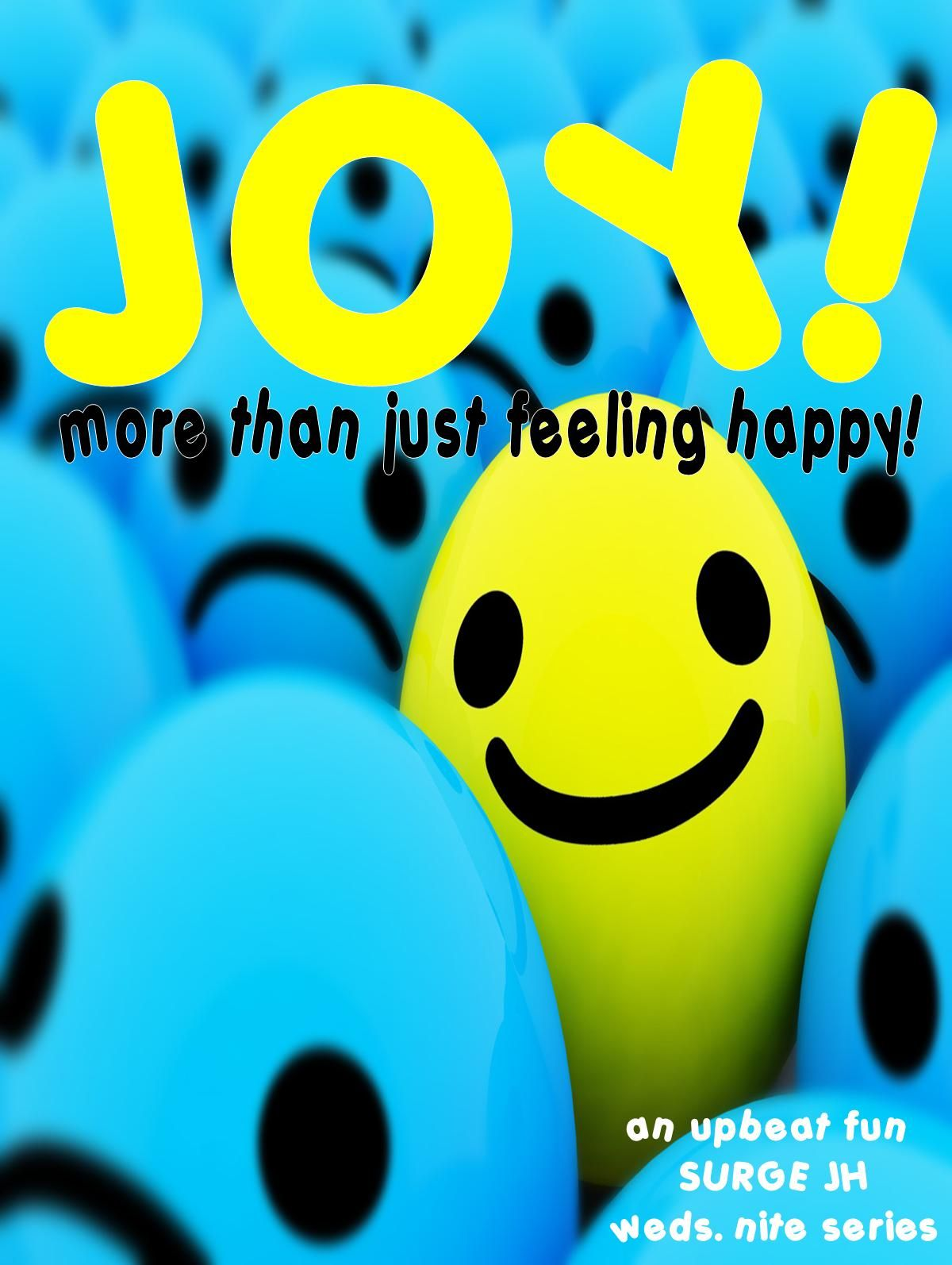 The Jh Uth Guy Lesson Series Joy More Than Happiness