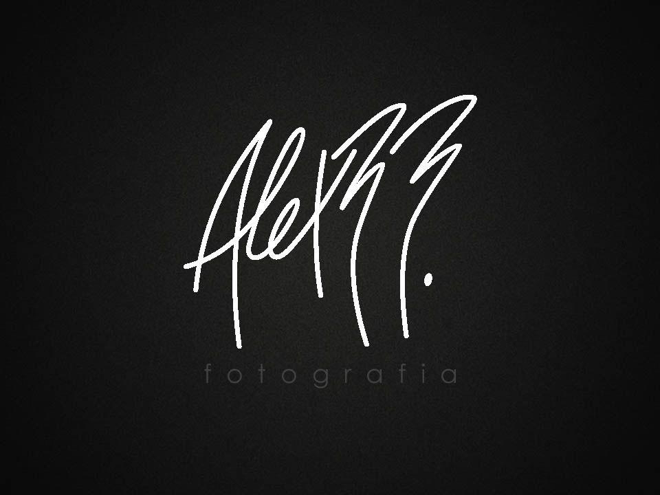 """Logotipo ALEX RR. """"Fotografia"""""""