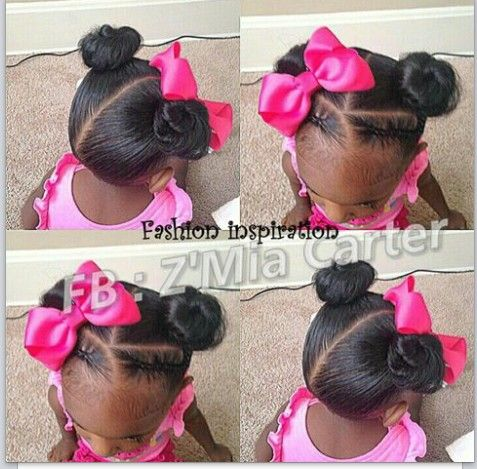 Buns And Braids Cute Style For A Special Event Birthday Party