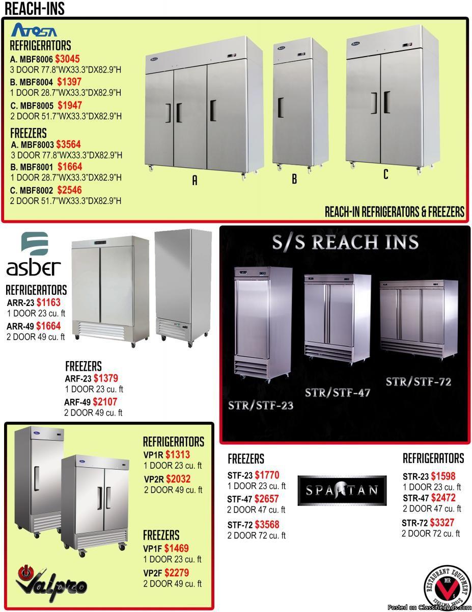 Atosa 1 Door Reach In Refrigerator Classified Ad With Images Locker Storage Used Restaurant Equipment Restaurant Equipment