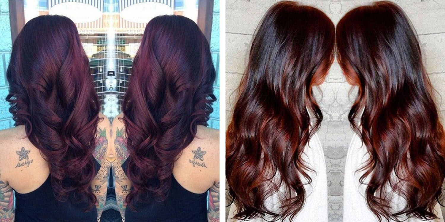 Chocolate Cherry Brown Hair Color, Find & save ideas about ...