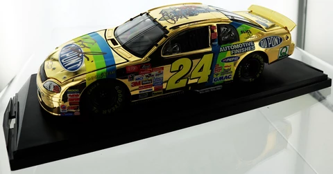 Jeff Gordon. 1998 24 Dupont Monte Carlo. Gold Finish