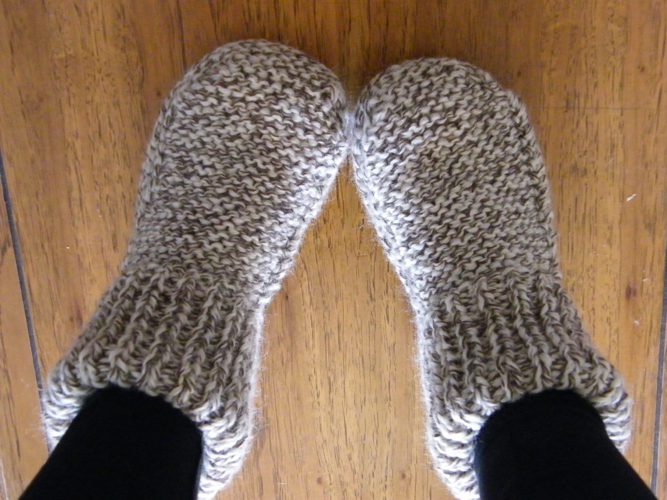 Slippery Slippers | Patterns, Knit crochet and Knit patterns
