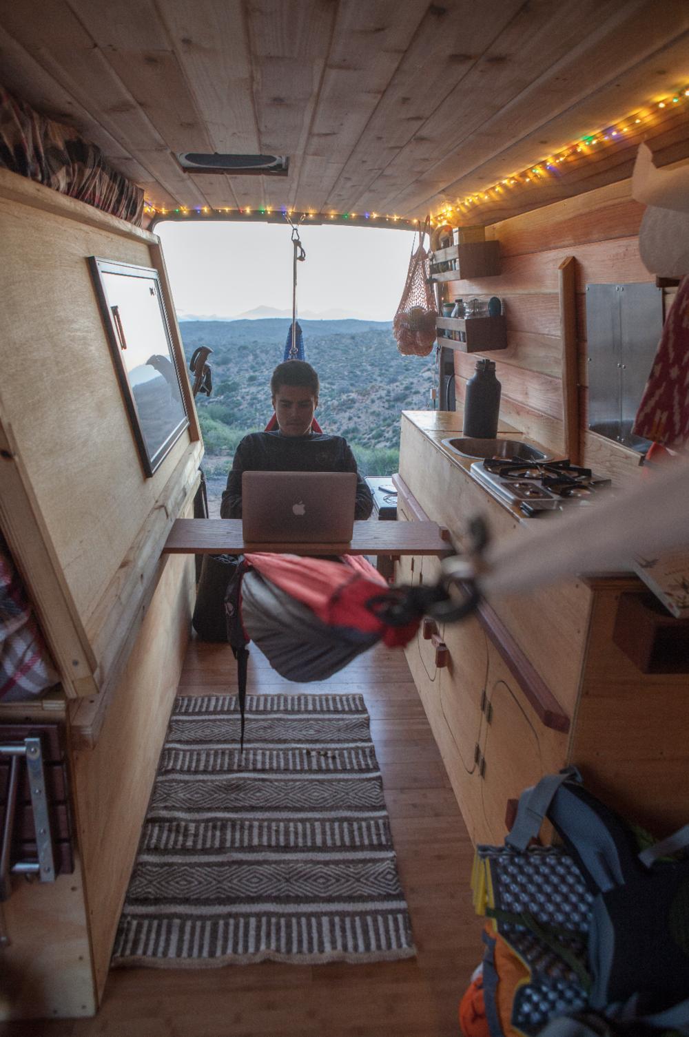 Cyrus Sutton Sprinter Conversion Camper Van Conversion Diy Van