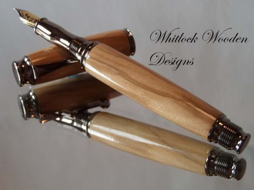 Wooden Olivewood Fountain Pen