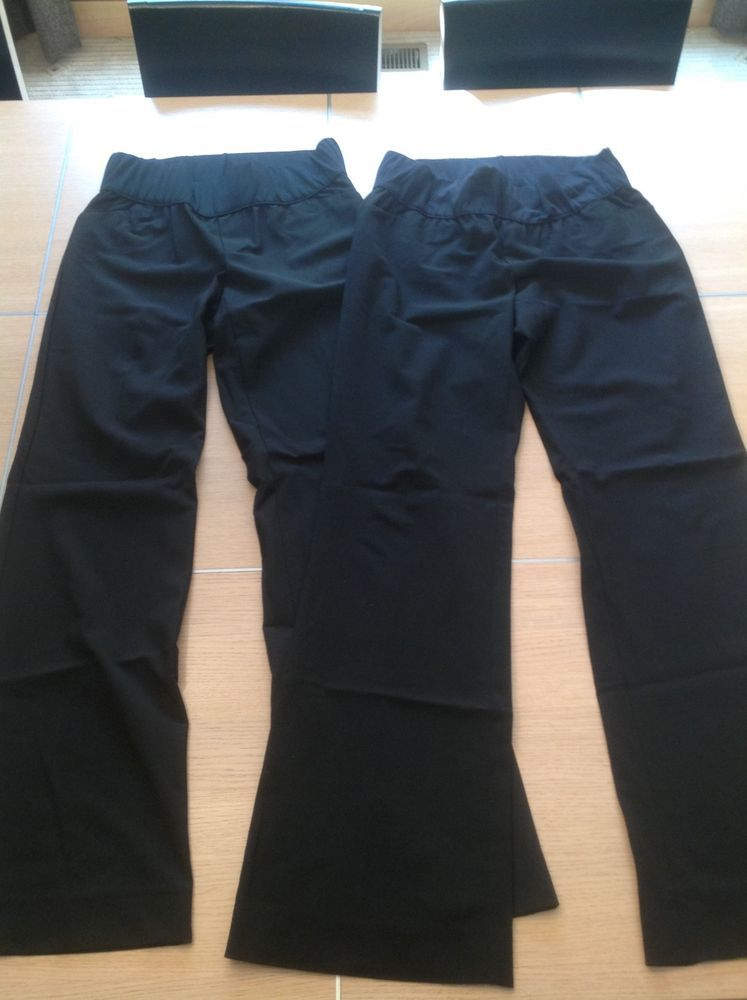 063c56d20 Gap Maternity Black Dress Pants Size 6 Long 6L 2 Pairs #fashion #clothing  #shoes #accessories #womensclothing #maternity (ebay link)