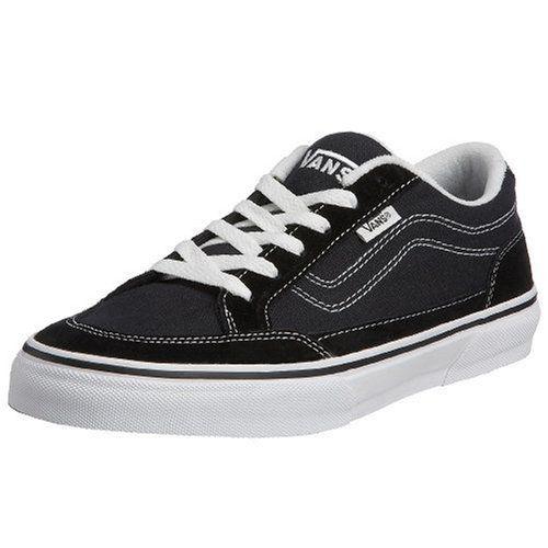 VANS Men BEARCAT Sneakers Skate Shoes (7, Black White) Vans https:/