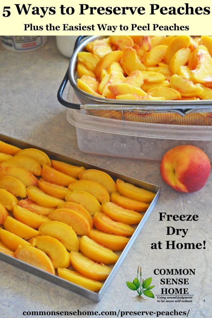 5 Ways to Preserve Peaches, Plus the Easiest Way to Peel Peaches