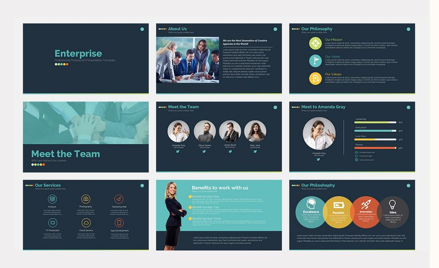 Designer Powerpoint Templates 60 Beautiful Premium Powerpoint