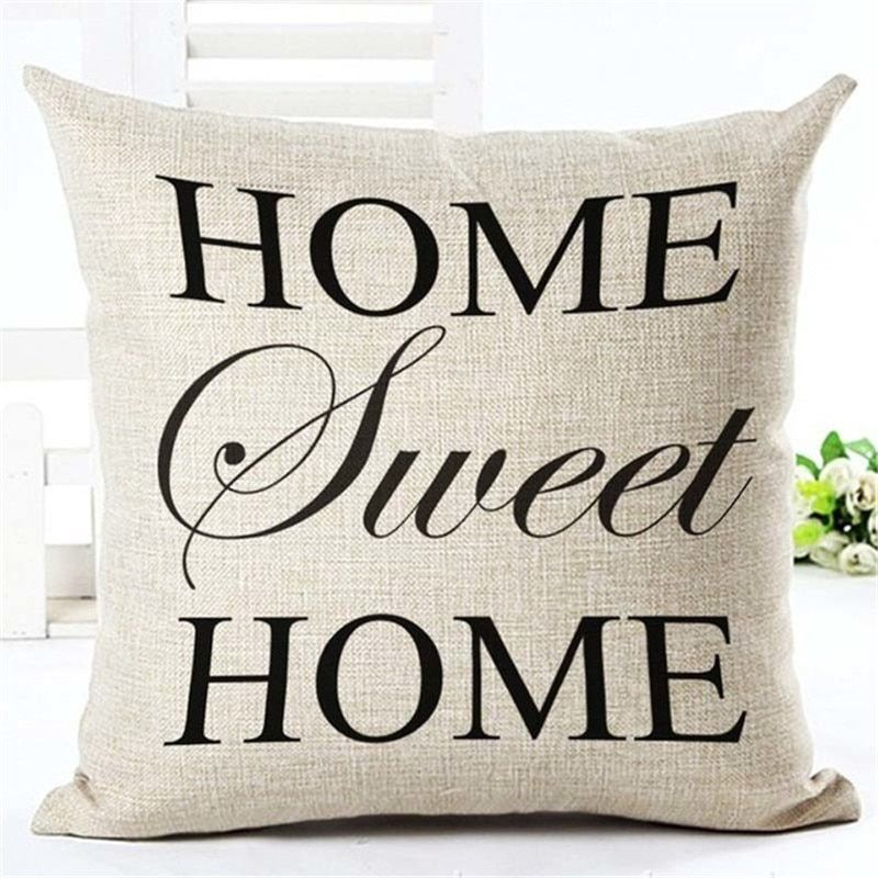 Sofa Cushion Covers Kissen Sofa Moderne Kissen Und Leinenkissen