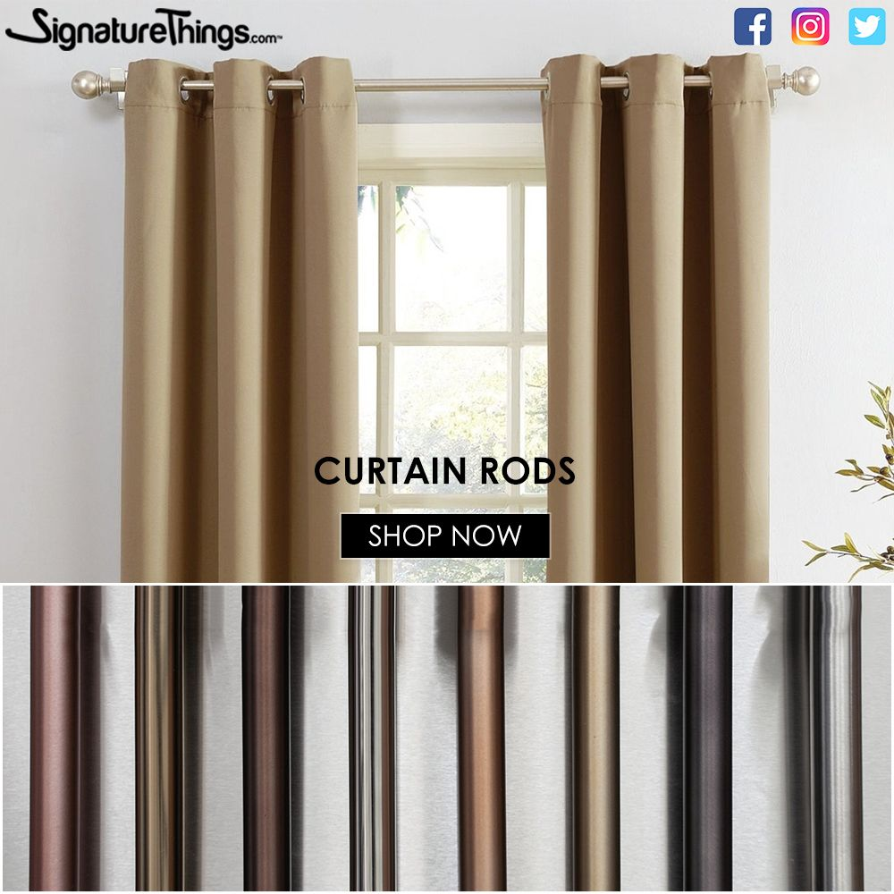 Classic Brass Tubing Thickest 0 125 12 Ft Length In 2020 Drapery Rods Curtain Rods Shower Curtain Rods