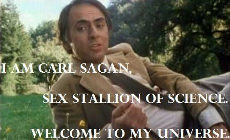 Carl sagan sex