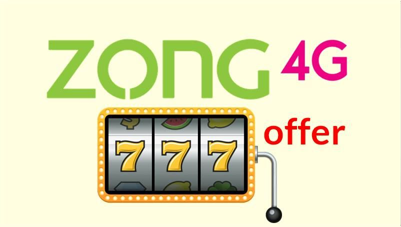 Zong 777 Offer 2019 7gb 7days In Rs 7 Detail With Images
