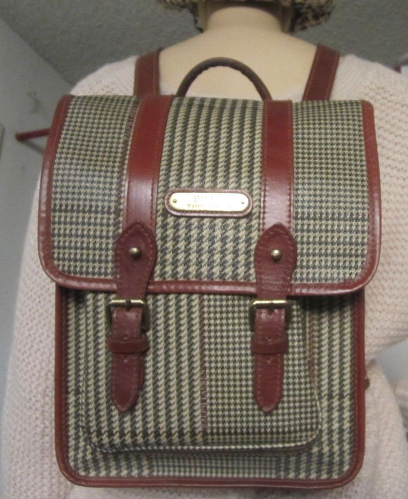 Polo Ralph Lauren Canvas And Leather Messenger Bag Leather Messenger Bag Men Messenger Bag Men Mens Canvas Messenger Bag