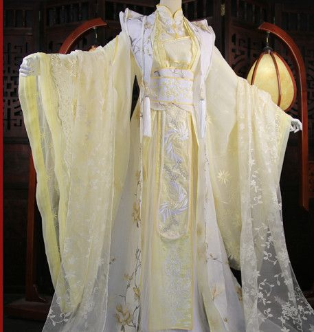 Chinese Traditional Empress Royal Stage Hanfu Hanbok Kimono Costume ...