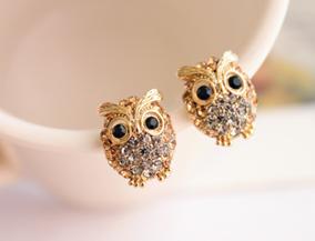 Owl Earring Set