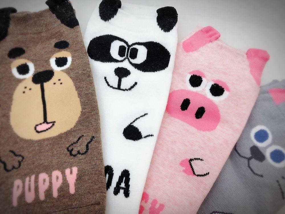 d0772d0ad3ea Farm Animal Cute Cat Pig Bear Panda Women Teen Girls Ankle Socks Christmas  Gift #fashion #clothing #shoes #accessories #womensclothing #hosierysocks  (ebay ...