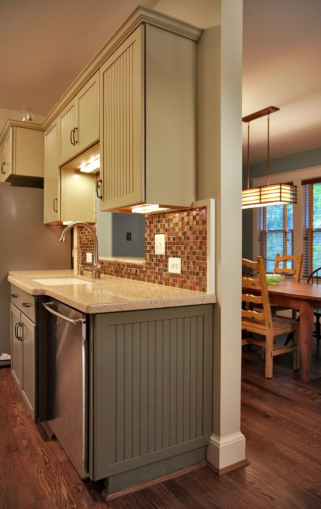Classic 4 of 4 The pass through from kitchen to dining room creates
