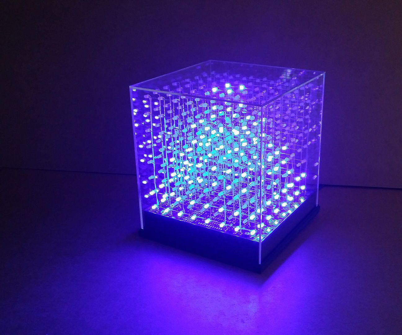 Jollicube An 8x8x8 Led Cube Spi Diy Pinterest Arduino Camping Light With Dimmer Cubes Never Fails To Impress Us Watching Some Animations On 7x7x7 Or Larger Can Be Very Mesmerizingwe Have Long Wanted Build One Of These