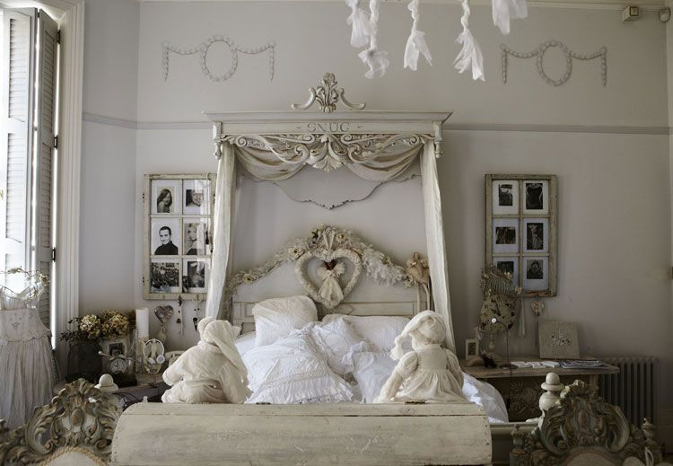 Arredamento Shabby Chic Camere Da Letto : Esempi di arredamento shabby chic per la camera da letto shabby