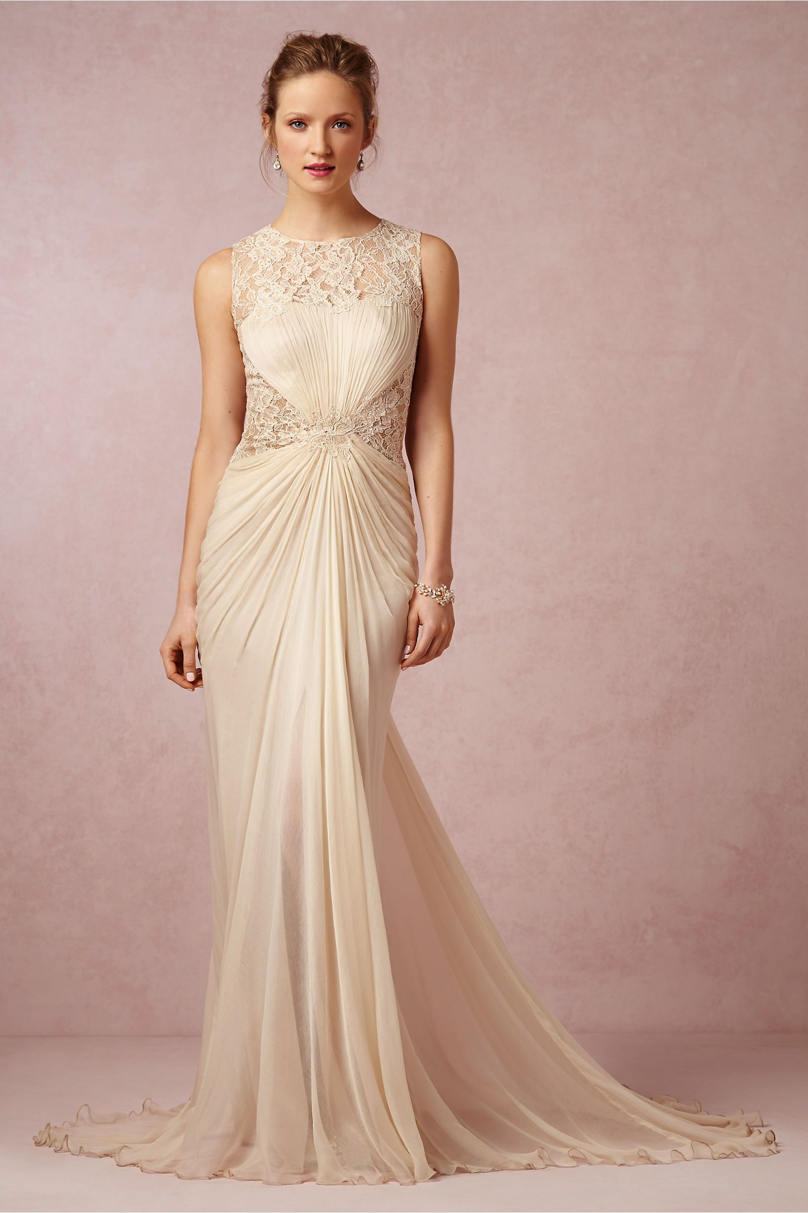 Flora Gown in Bride Wedding Dresses at BHLDN | <3 | Pinterest | Boda ...