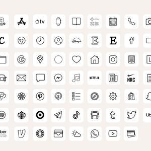 iOS14 App Icons iPhone Aesthetic | 62 App Pack, io