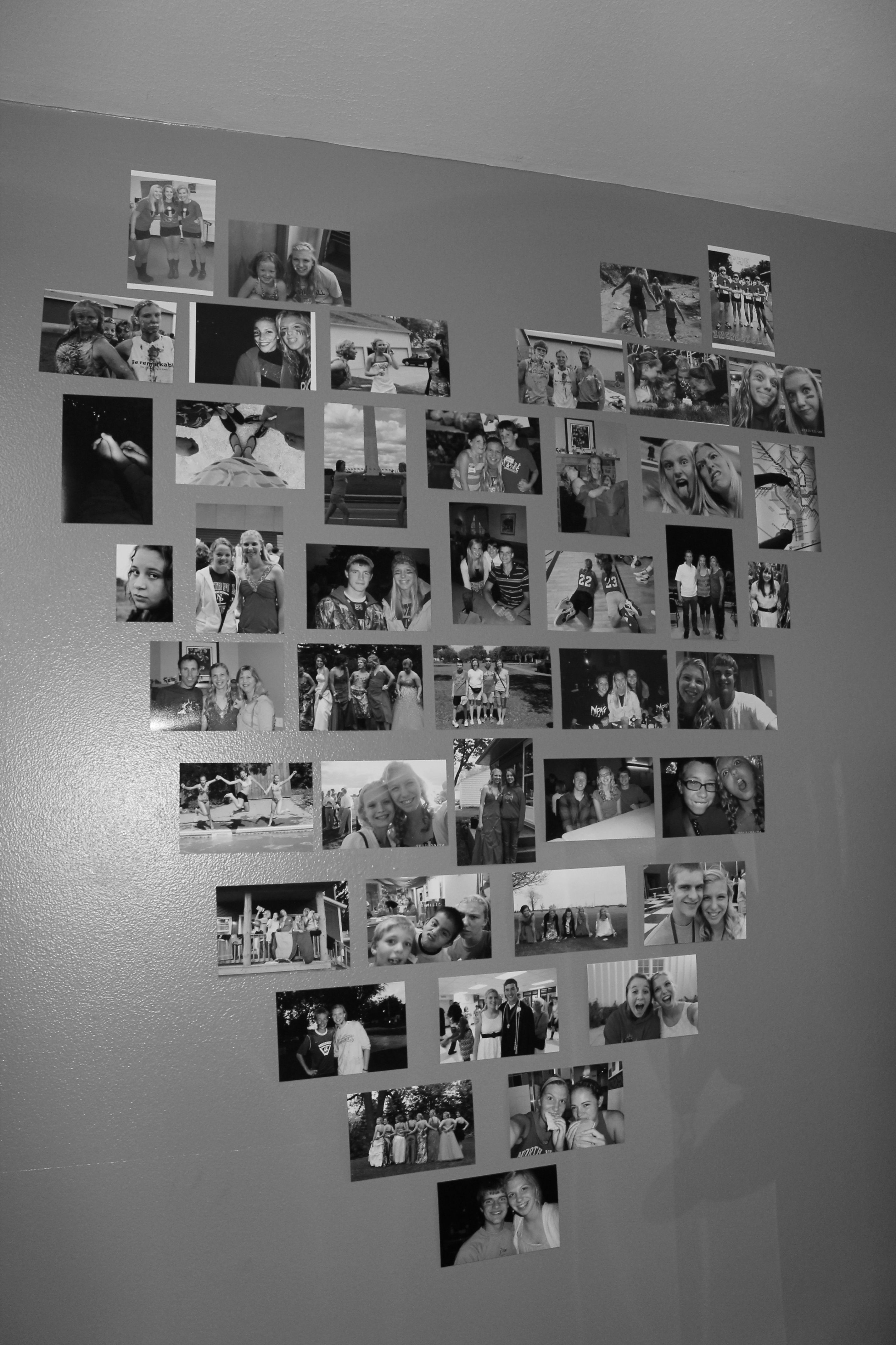 Put Picture In Heart Shape : picture, heart, shape, Print, Pictures, Heart, Shape, Decor,, Wall,