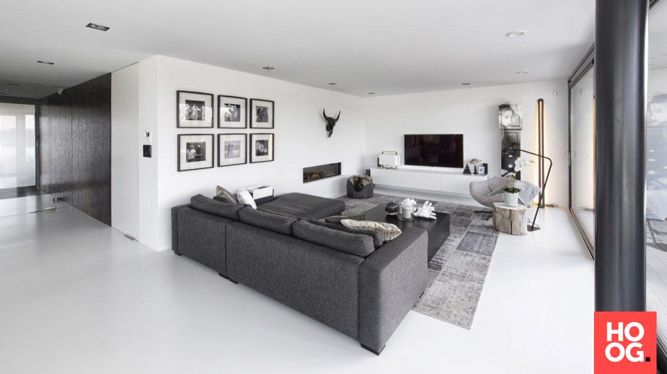 Moderne woonkamer met luxe decoratie | woonkamer ideeën | living ...