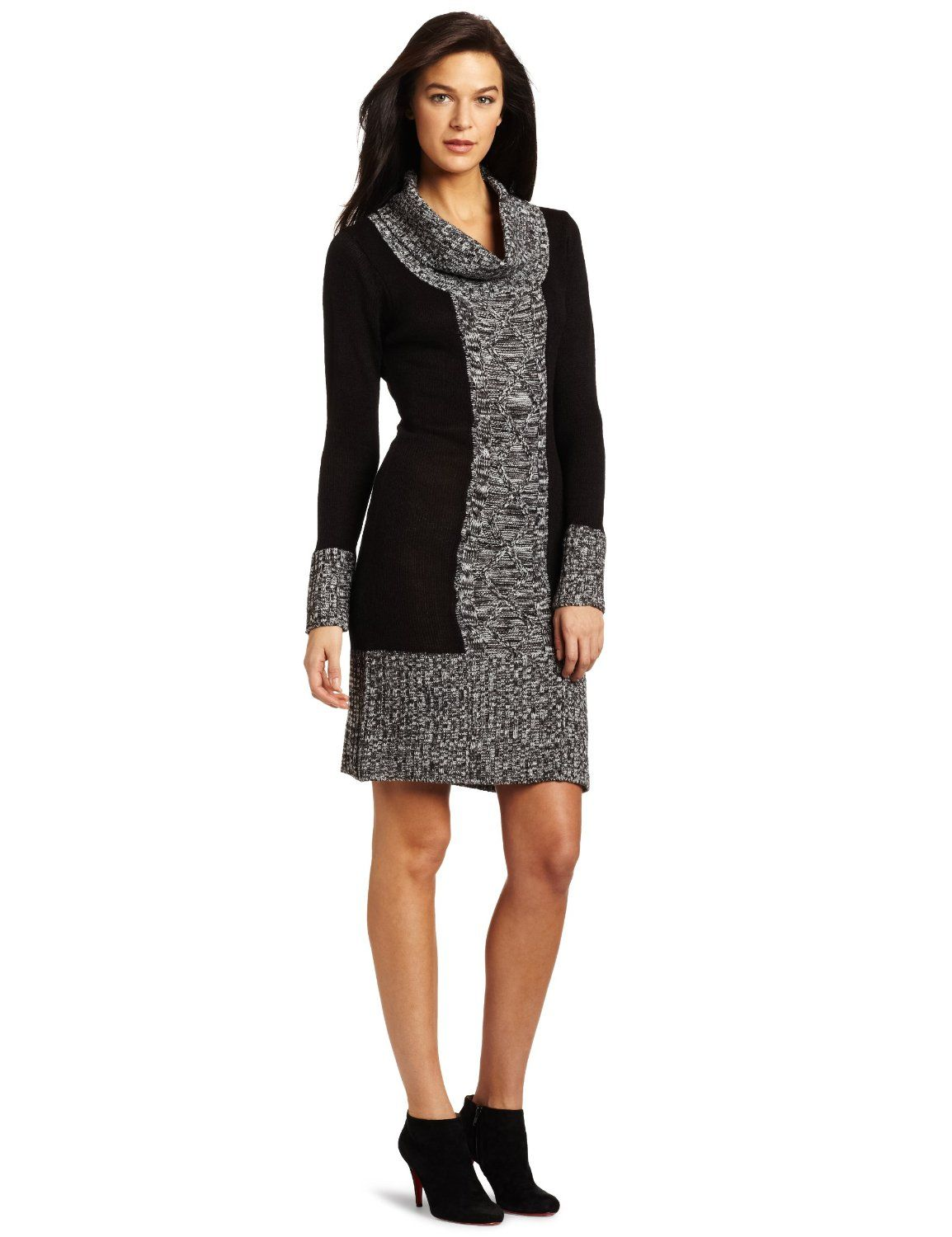 Tiana B Women's Color Blocked Sweater Dress Price: $39.99 FREE ...