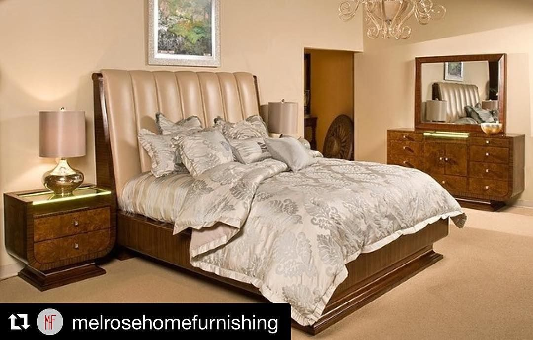 #Repost @melrosehomefurnishing with A luxurious bedroom set designed and manufactured by the prestigious Michael Amini better known by his company name AICO. Buy it anywhere else for $6800 or more. Or come check it out on our showroom floor for $4900. Floor sample only #melrosehomefurnishing #luxispace #la #losangeles #furniture #influencer #lainfluencer #decor #interiordesign #interior #design #designer #good #quality #fine #cleancut #clean #leather #headboard #bed #bedroom #floorsample #sale