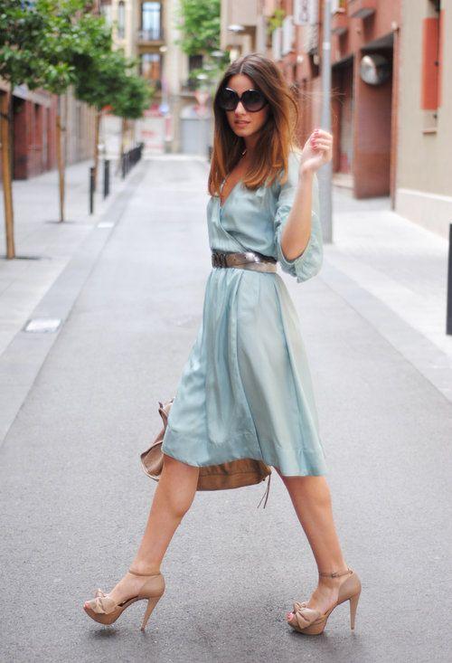 The perfect light wrap dress