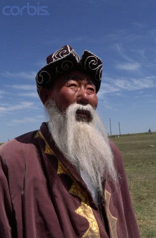 Storyteller, Kyrgyzstan.  (Kazak's neighboring country, with much shared culture.)