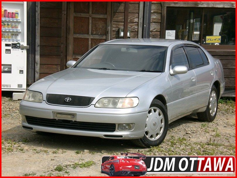 95 Toyota Aristo V Twin Turbo In Japan. Free Shipping to