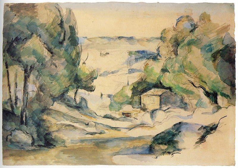 Cezanne Landscape In Provence Paul Cezanne Paintings Paul Cezanne Cezanne