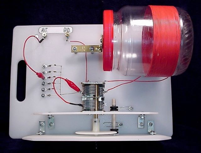 homemade crystal radio antenna tuner | crystal radio antenna